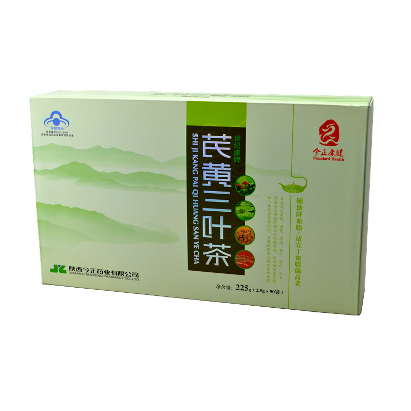 芪黄三叶茶 保健茶 养生茶 225g(2.5g*90袋)