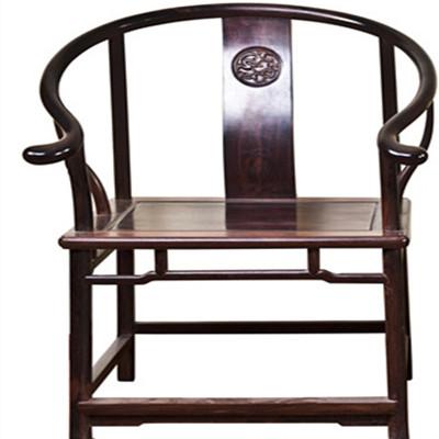 宫廷系列 明式圈椅 交趾黄檀 3件 斯尔摩红木