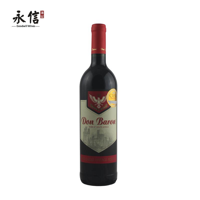 $!唐巴伦红鹰经典红葡萄酒 半干 750ml